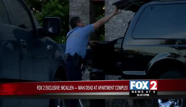 FOX 2 EXCLUSIVE- Man Dies in Apartment Complex in McAllen