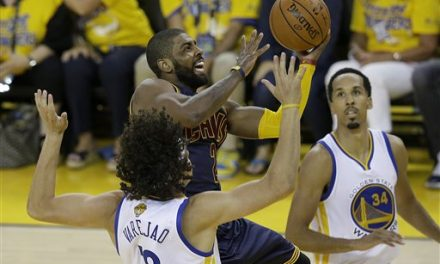Pressure point: Irving, Cavs face crucial Game 3 in finals