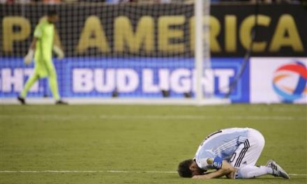 Chile wins Copa; Messi misses, says he's quitting Argentina