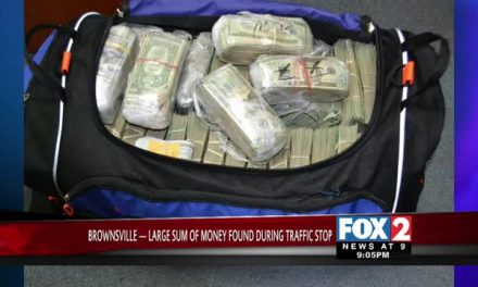 Large Sum of Money found During Traffic Stop