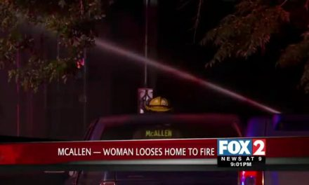 McAllen Fire Destroys Woman's Home and Car