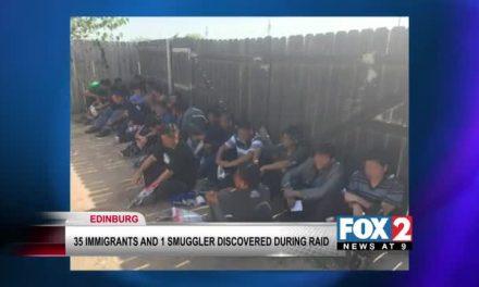 35 Undocumented Immigrants Rescued, Smuggler Arrested