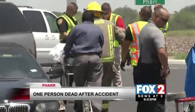 Deadly Accident in Pharr, One Man Dead