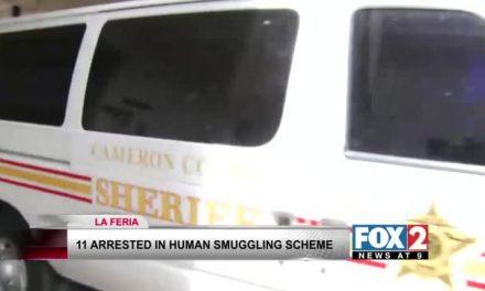 Eleven Arrested in Human Smuggling Scheme