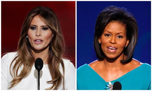 Trump campaign dismisses criticism of Melania Trump speech