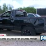 Man Charged with Evading Arrest