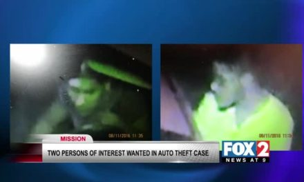 Police Search for Men Involved In Auto Theft
