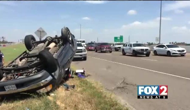 Rollover On US 281 Causes Traffic Congestion