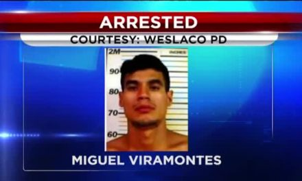 Weslaco Man Spits on Police Officer
