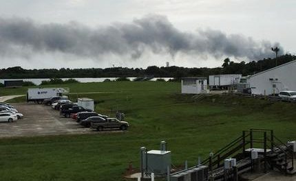 Developing: Explosion rocks SpaceX launch site in Florida during test