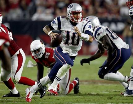 Jimmy Garoppolo helps Patriots beat Cardinals 23-21
