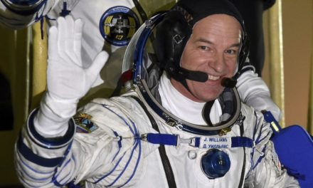 3 space station crew members back on Earth