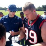 Houston's Watt re-injures back, could miss entire season