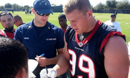 Houston's Watt re-injures back, could miss entire season