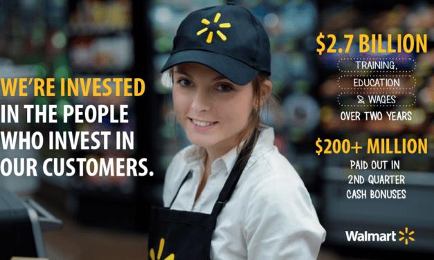 Walmart Associates Earn $24 Million In Cash Bonuses