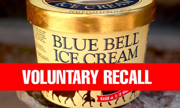 Breaking: Blue Bell Issues New Ice Cream Recall