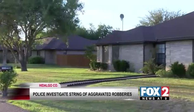 Hidalgo County Sheriff Investigating Series of Robberies