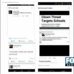 Killer Clowns Threaten Killings at Mid-Valley Schools