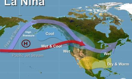 "Feds forecast a weak ""La Nina"" coming next month"