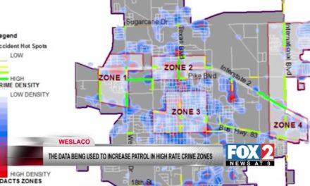 Weslaco Police use Historical Crime Data to plan patrols