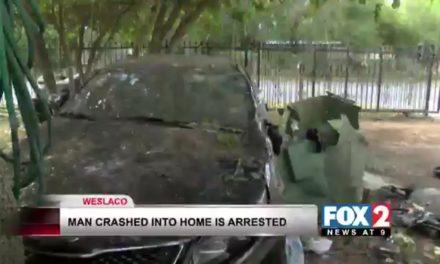Man Who Crashed Into House Under Arrest
