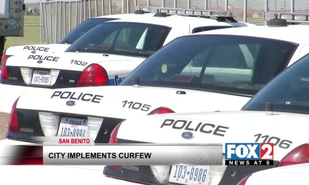 San Benito Police Enforce Curfew Over Holiday