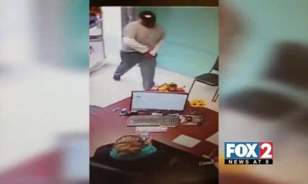 Surveillance Video Catches Brazen Robbery