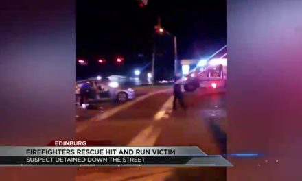Edinburg Firefighters Rescue Man From Fiery Accident