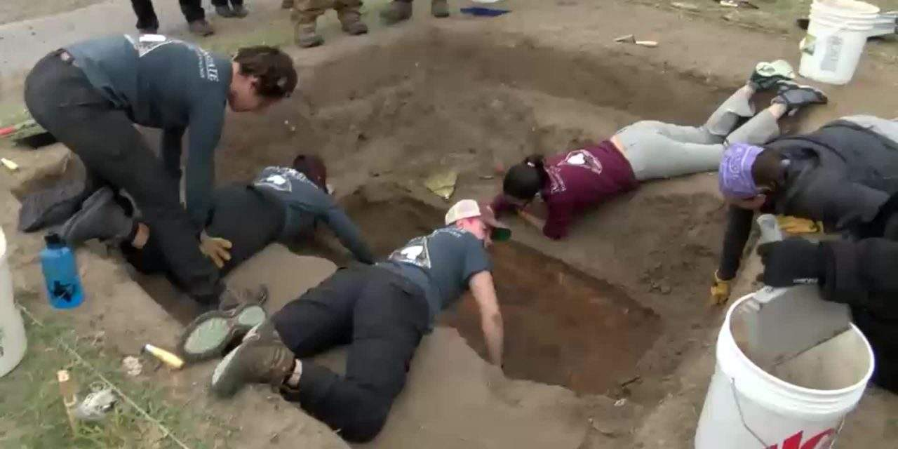Immigrants' Remains Exhumed for Identification