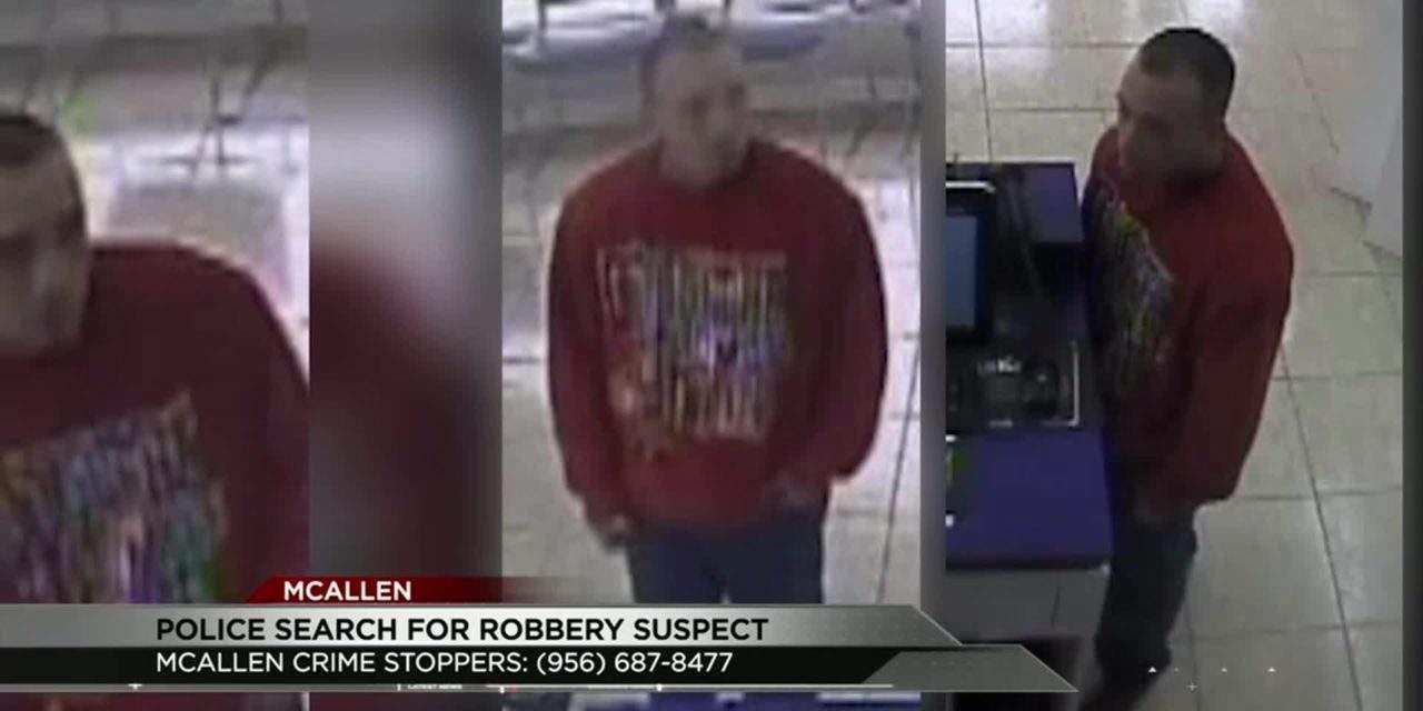 Surveillance Cameras Catch Robbery Suspect