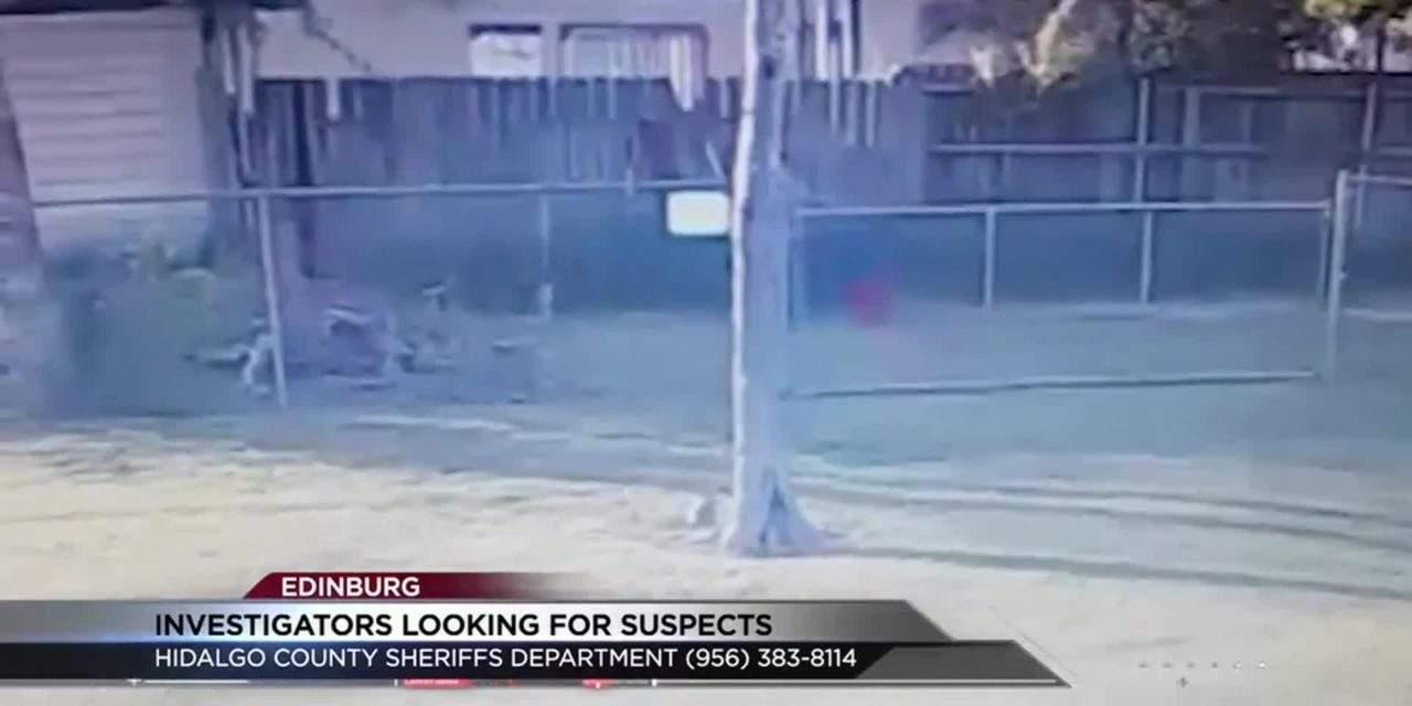 Suspected Burglars Caught on Camera