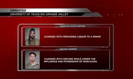 Two UTRGV Students Arrested