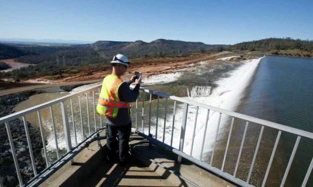 California dam water level drops after massive evacuation