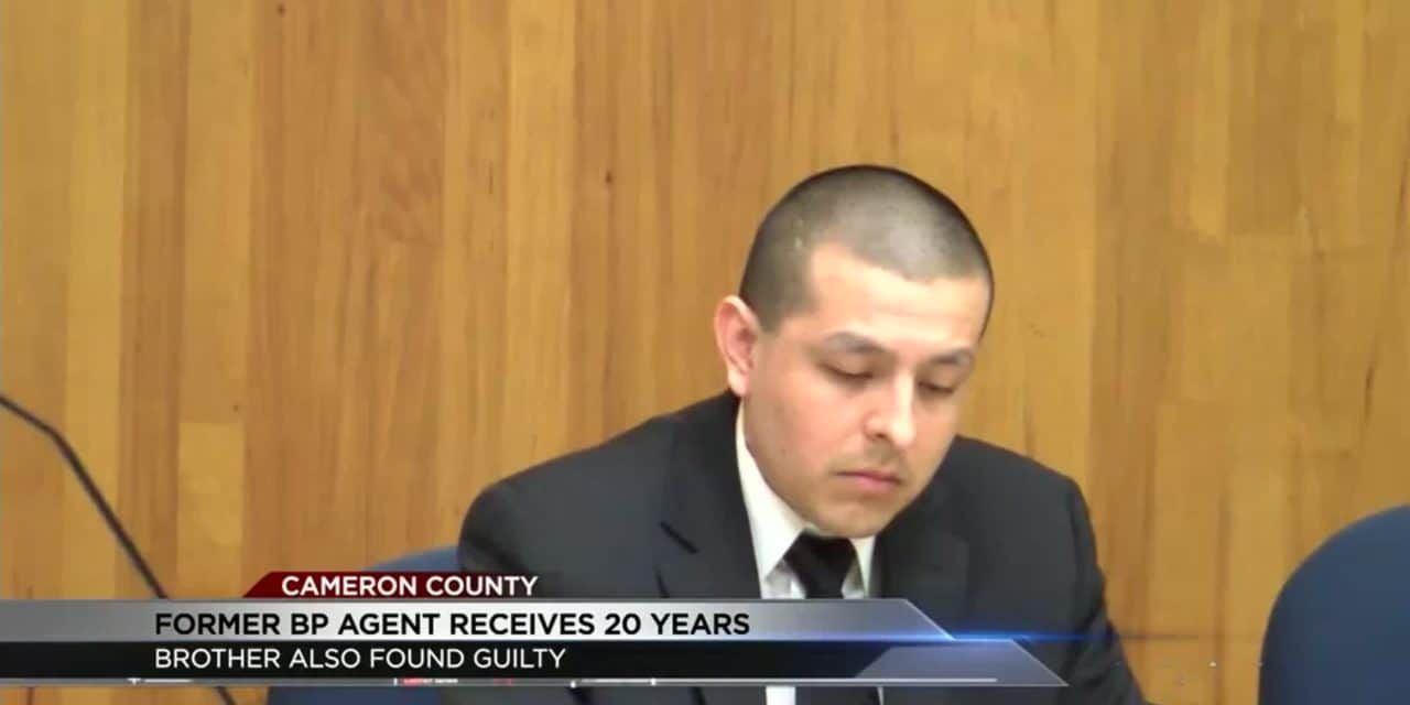 20 Year Sentenced Issued on Former Border Patrol Agent
