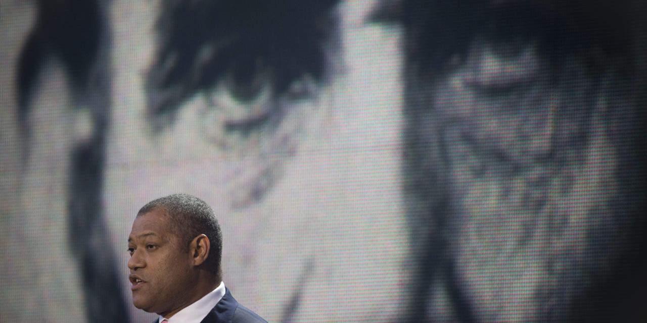 Laurence Fishburne calls Nelson Mandela role 'life-changing'