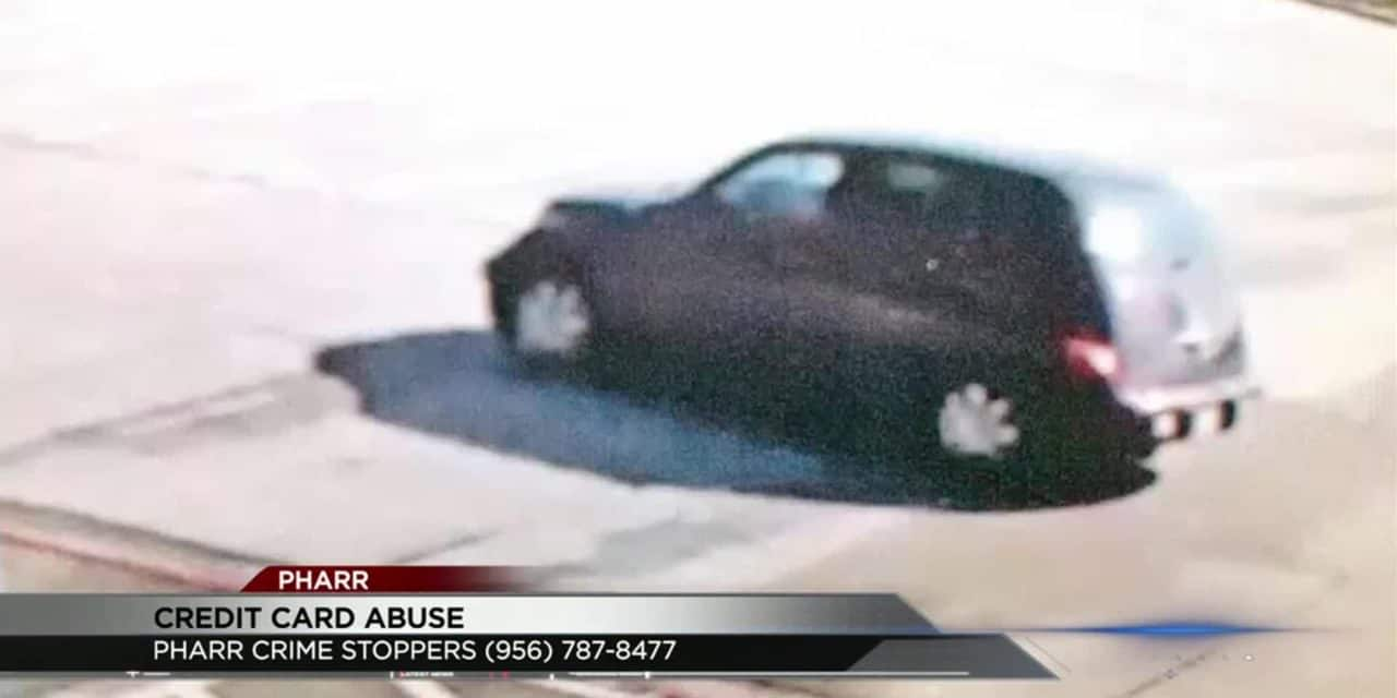 Pharr Police Searching Man for Credit Card Abuse