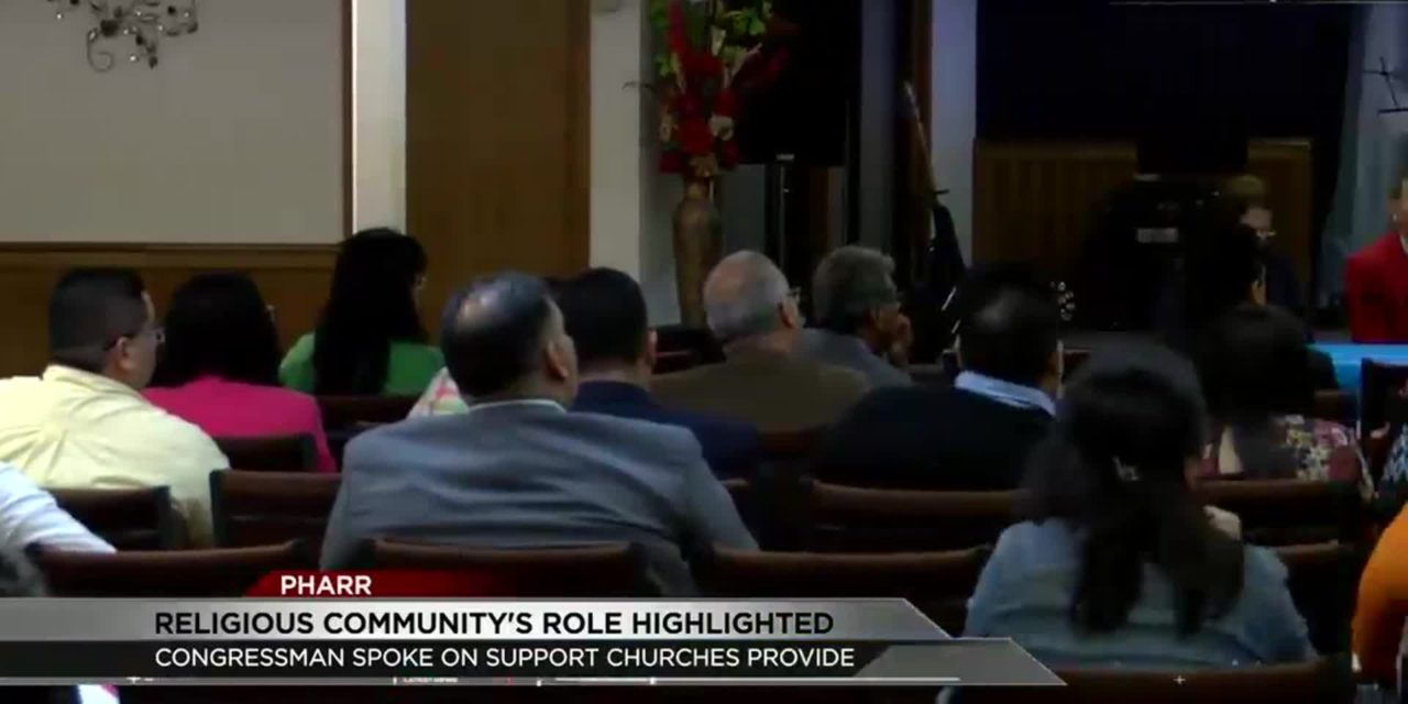 Rep. Gonzalez Highlights Church's Role in Immigrant Aid