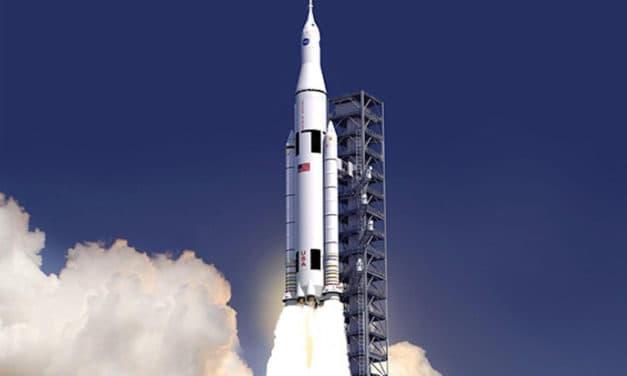 NASA weighing risk of adding crew to megarocket's 1st flight