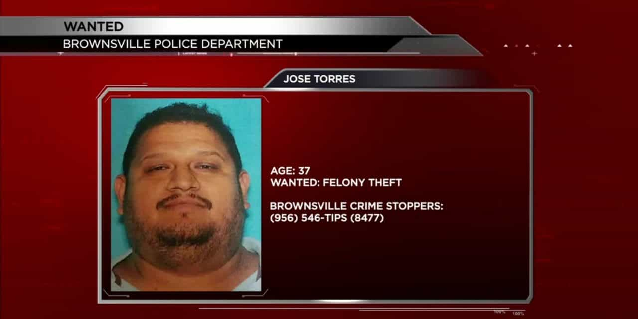 Brownsville Man Sought on Theft Warrant