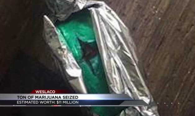 Driver arrested after seizing a ton of marijuana