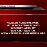 Great American cleanup happening this Weekend