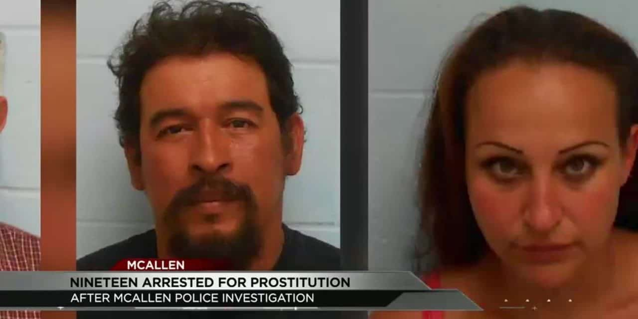 McAllen Police Busts 19 For Prostitution