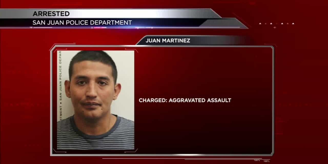 San Juan Man Charged for Attacking Neighbor With Knife