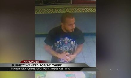 Suspect Wanted in 7-11 theft in Harlingen