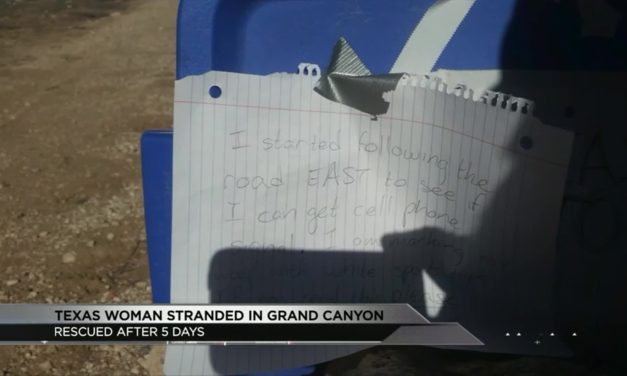 Texas Native is Stranded in the Grand Canyon for 5 days