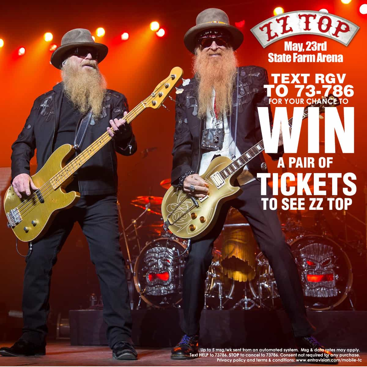 Win tickets to see ZZ Top in Concert
