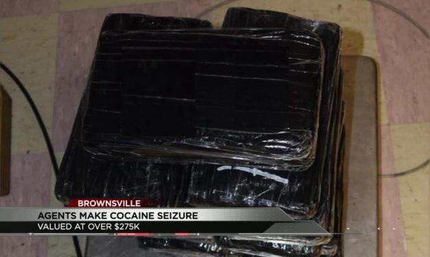 Cocaine Seizure at Brownsville International Bridge