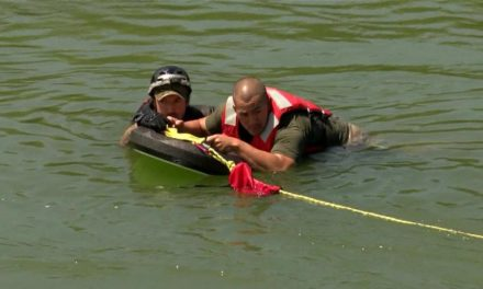 Border Patrol Demonstrates New Rescue Techniques
