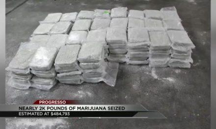 BP Agents Make 2000 Pound Marijuana Bust