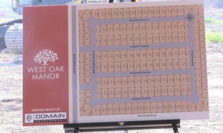 Pharr West Oak Manor Subdivision construction underway